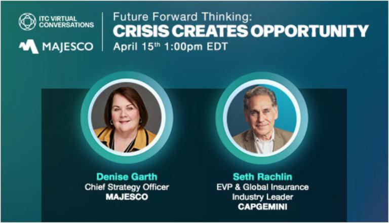 Insuretech Connect e Majesco promovem evento sobre oportunidades em meio a crise nesta quinta-feira, 15