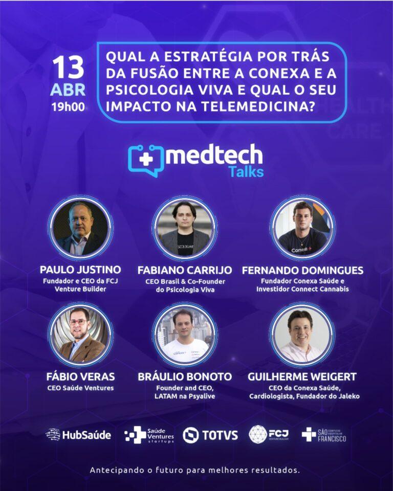 MedTech Talks aborda impacto da telemedicina no mercado da saúde